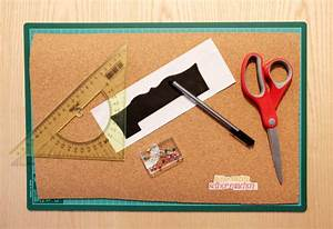Pinnwand Selbst Gestalten : pinnwand selber machen aus kork pinnwand basteln ~ Lizthompson.info Haus und Dekorationen