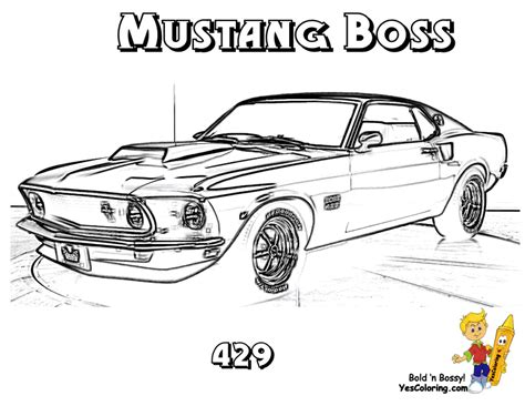 Hot Rod Free Coloring Pages