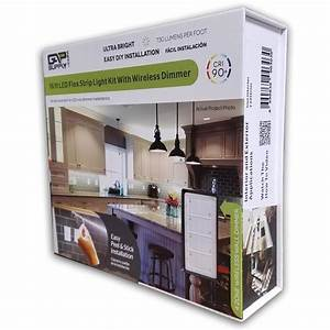 shop gap supply 197 in plug in under cabinet led tape With kitchen cabinets lowes with sticker tape