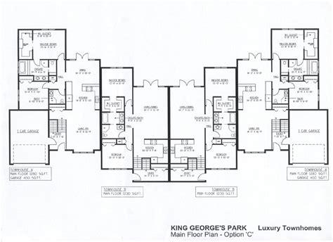 delightful luxury townhome floor plans luxury townhome plans 171 floor plans