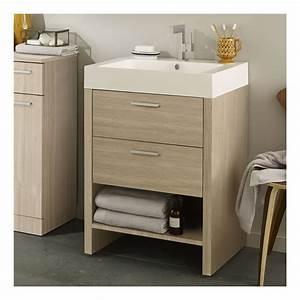 meuble sous lavabo meuble sous lavabo noyer large choix With superb meuble sous lavabo avec pied 1 meuble sous lavabo de salle de bain contemporain chene