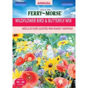 ferry morse wildflower bird  butterfly mix seed