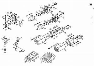 Motor Assy Diagram  U0026 Parts List For Model 3116 Singer