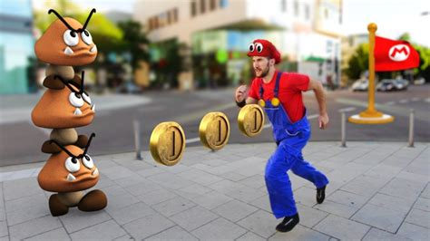 Super Mario Odyssey In Real Life Youtube