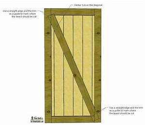 door plans build a beautiful sliding barn door with With barn door blueprints