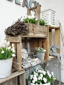 Winterharte Bäumchen Für Balkon : look pimp your room ein regal f r draussen deko drau en balkon und garten ~ Buech-reservation.com Haus und Dekorationen