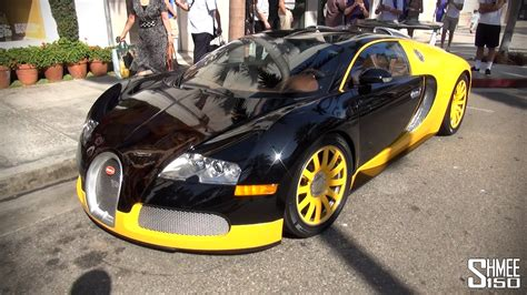 World Famous Bijan Bugatti Veyron In Los Angeles Youtube