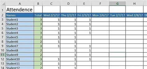 attendance sheet templates  formats examples
