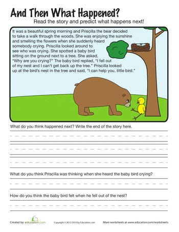 writing comprehension worksheets for 2nd grade 2nd grade genre writing worksheets education com education writing worksheets worksheets