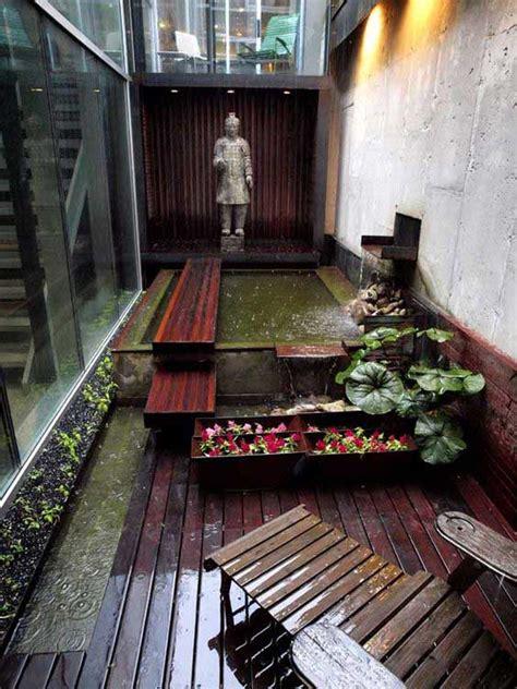 fascinating ideas  tiny courtyards  big