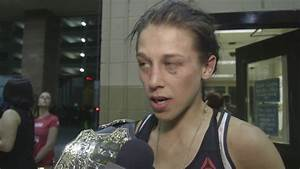 The Ultimate Fighter Finale: Joanna Jedrzejczyk Backstage ...