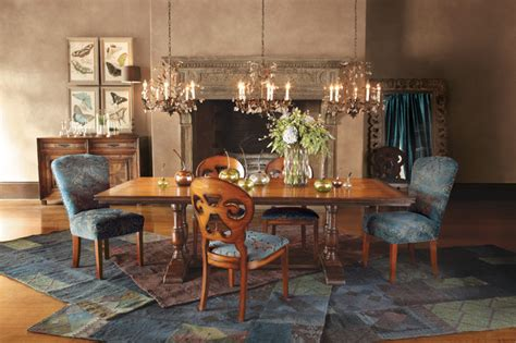 arhaus furniture dining room tables pietro dining table eclectic dining room other by