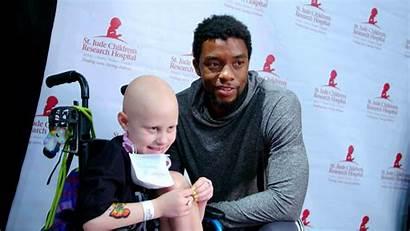 Boseman Chadwick Children Cancer Ill Fighting Secretly