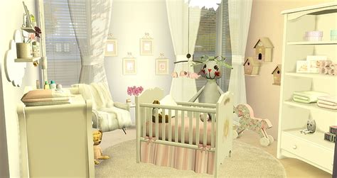 Babygirl Room At Caeley Sims » Sims 4 Updates