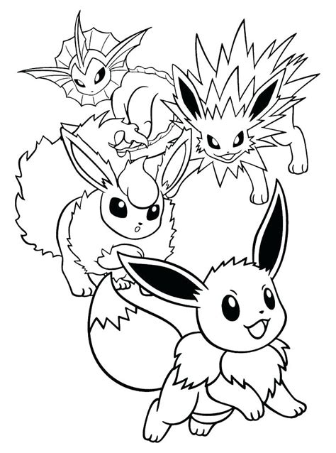 pokemon leafeon coloring pages  getcoloringscom  printable colorings pages  print