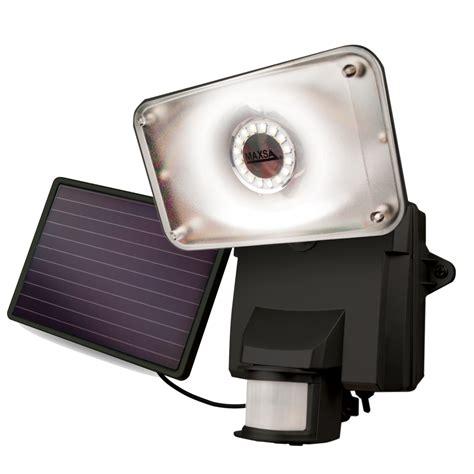 solar powered led security lights maxsa 44641 solar powered led security flood light