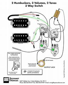 Dual Humbucker Wiring Diagram 3 Wire
