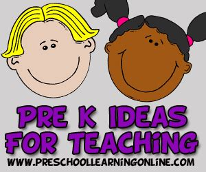preschool learning activities pre k lesson plans amp themes 334 | pre k learning activities