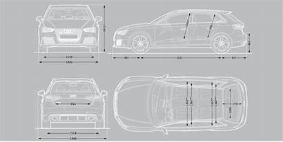 Dimensions Rs3 Audi Sizes Carwow Guide Exterior
