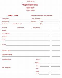 catering invoice template invoice example With catering invoice template pdf
