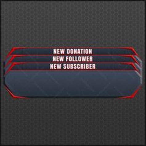 Twitch Alert Images Template by Twitch Tv Live Stream Overlay Streaming Pinterest