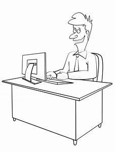 Office Work Stock Illustration  Illustration Of Graphic