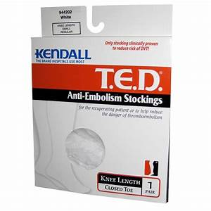 Medtronic Covidien Kendall Knee Length Ted Anti Embolism