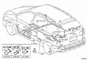 Toyota Sienna Wire  Seat  No  2  Electrical  Wiring