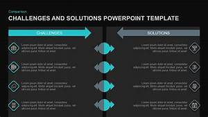 Organization Chart Powerpoint Template Challenges Solutions Powerpoint Template Slidebazaar