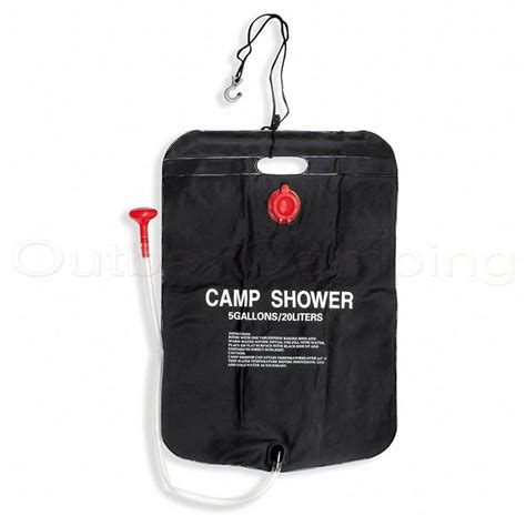 Bestway Solar Heated Portable Shower Bag Outdoor Camping