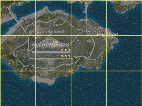 erangelsosnovka military base official playerunknowns