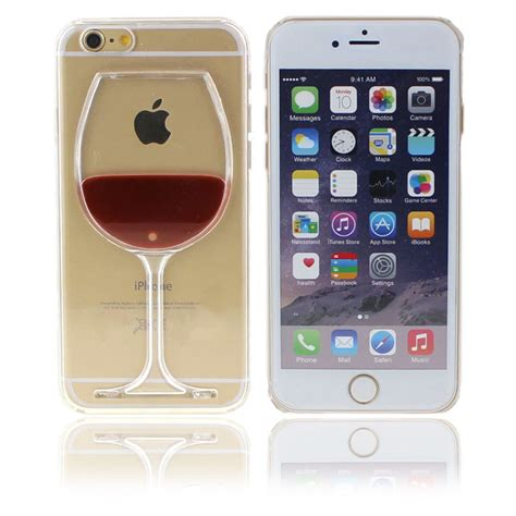 3d iphone 5s cases for apple iphone 6 5s 3d liquid state wine cup