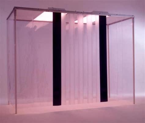 clean room curtains plastic doors clear 040 mil