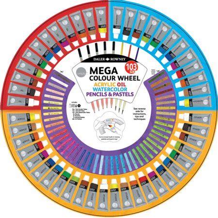 simply color wheel mixed media art kit 103pcs walmart com
