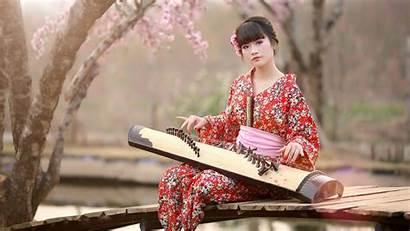 Kimono Japan Japanese Wallpapers Background Koto Resolution