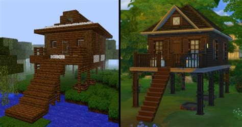 mod  sims dark oak swamp house  mizukiukitake sims  downloads