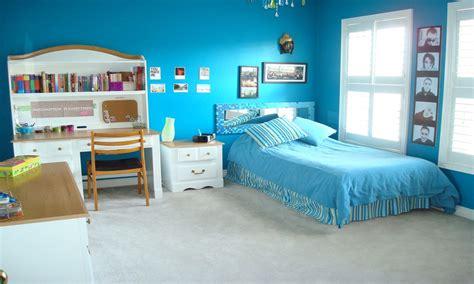 pink  blue bedroom teenage girls bedroom paint ideas