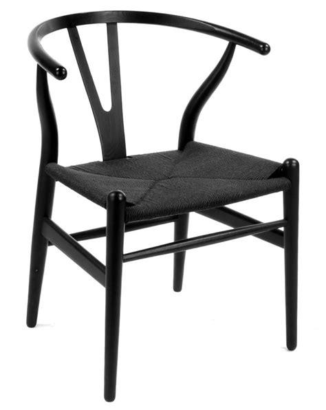 wegner wishbone style dining chair y chair ch24 design