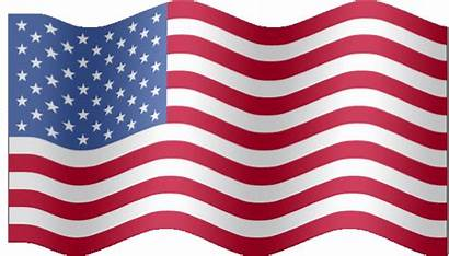 Flag American Animated States Flags Waving United