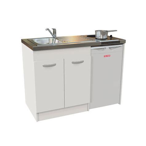 le bureau castorama kitchenette electrique blanc h 92 5 x l 120 x p 60