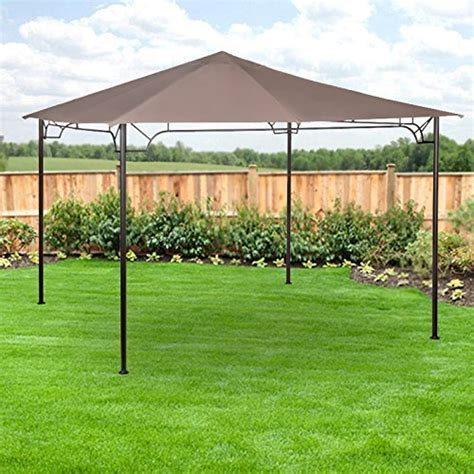 garden winds lcm ace hardware living accents  gazebo replacement canopy beige buy