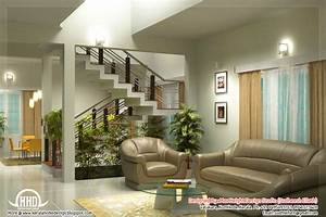 beautiful living room rendering kerala house design With house interior design living room