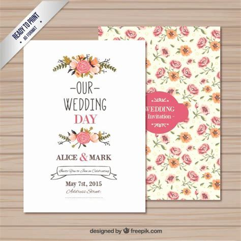 wedding invitations template   elegant wedding