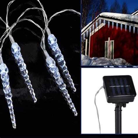 guirlande led solaire gla 231 ons eclairage design