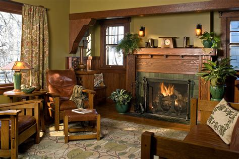 interior color palettes  arts crafts homes design