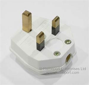 Wandsworth 13a Plug With Square Earth Pin