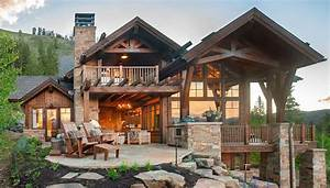 Modern, Rustic, Home, Boasts, Magnificent, Views, On, A, Colorado, Dude, Ranch