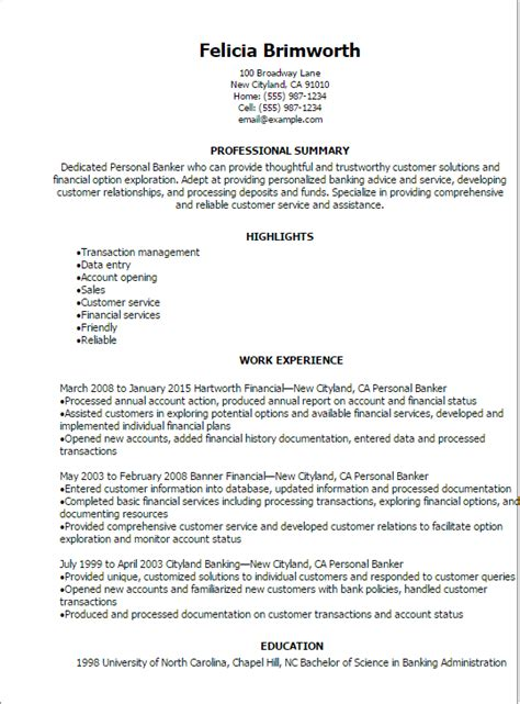 good opening for cover letter 1 personal banker resume templates try them now