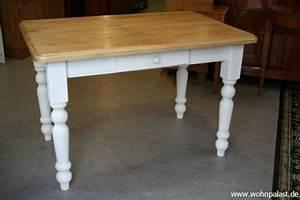 Tisch landhaus wei honig m bel wohnpalast m bel for Tisch landhaus