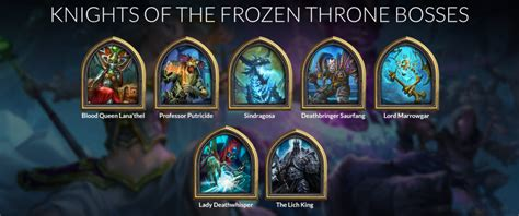 knights of the frozen throne guide release date card spoilers list missions hearthstone top